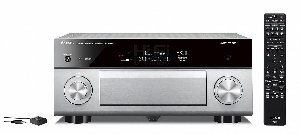 ampli Yamaha RX A2080 trang