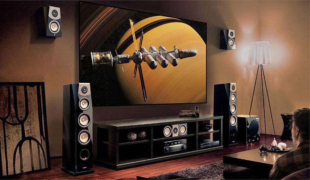 ampli Yamaha RX V2085 dep